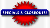 Blue Star Sportswear: Specials and Closeouts
